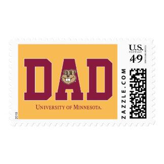 University of Minnesota Dad Postage Stamps