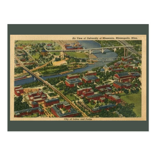 University of Minnesota, Minneapolis Post Cards