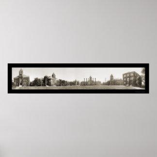 University of Missouri Photo 1910 Poster