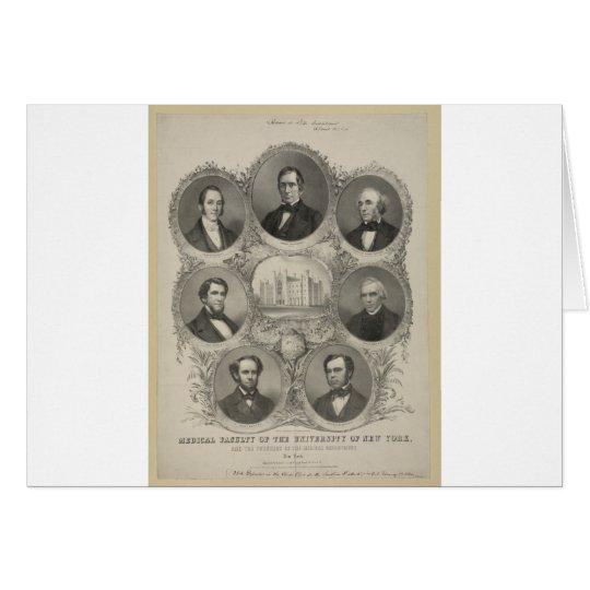 University of New York  - 1846 Card