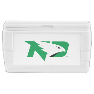 University of North Dakota Logo Chest Cooler
