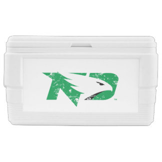University of North Dakota Logo Vintage Chest Cooler