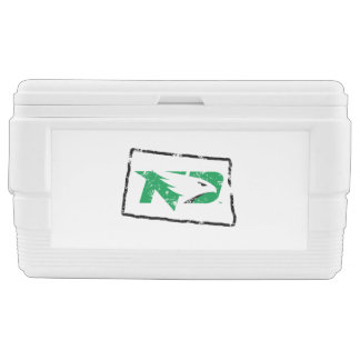 University of North Dakota State Love Chest Cooler