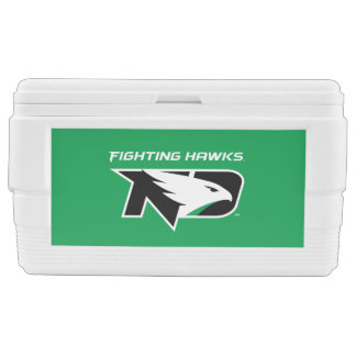 University of North Dakota with Logo Chest Cooler