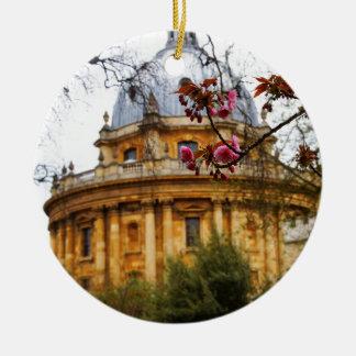 University OF Oxford Ceramic Ornament