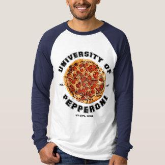 University of Pepperoni Pizza Shirt