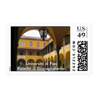 University of Pisa, Law Faculty Postage