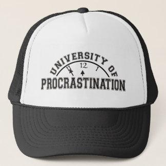 University of Procrastination Trucker Hat