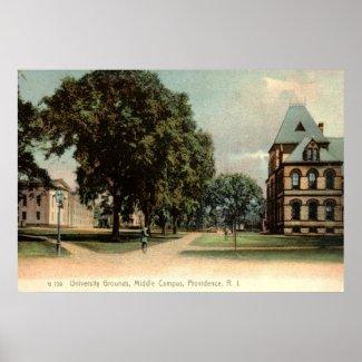 University of Rhode Island Providence 1906 Vintage print