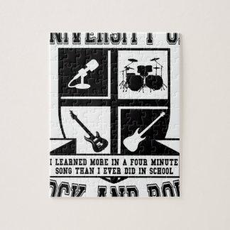 University of Rock & Roll Jigsaw Puzzle