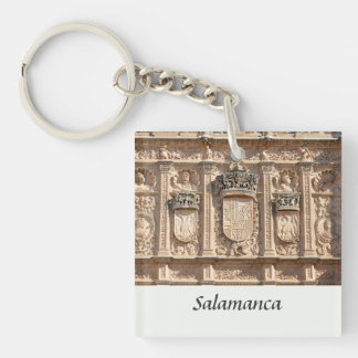 University of Salamanca Single-Sided Square Acrylic Keychain