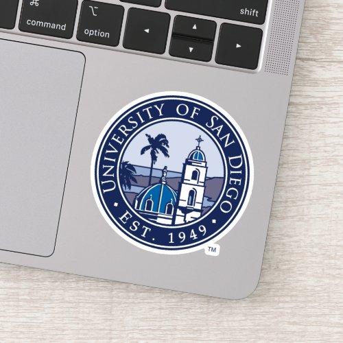 University of San Diego  Est 1949 Sticker