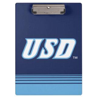 University of San Diego | USD Stripes Clipboard