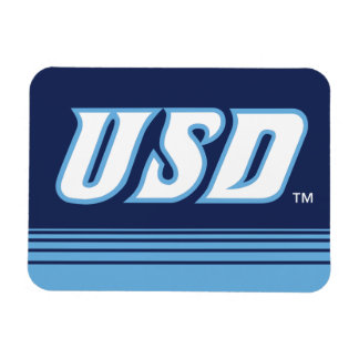 University of San Diego | USD Stripes Magnet