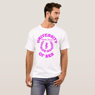 University of Ska Kingston, Jamaica pink T-Shirt