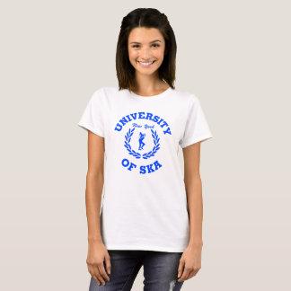 University of Ska New York ladies blue T-Shirt