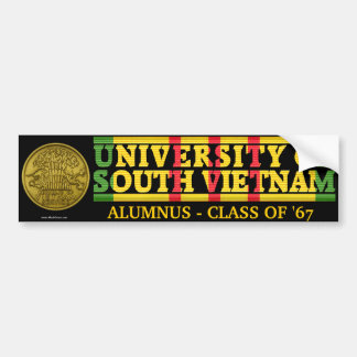University of South Vietnam Alumnus Sticker