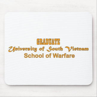 University Of South Vietnam - School of Warfare Mouse Pad