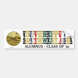 University of Southwest Asia Alumnus Sticker
