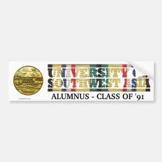 University of Southwest Asia Alumnus Sticker