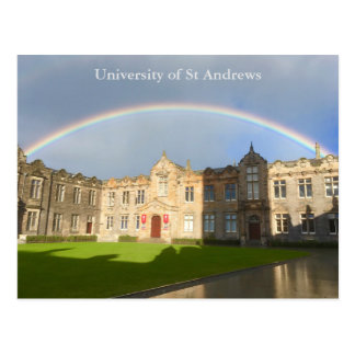 University of St Andrews St Salvator's Quad Card