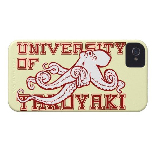 University of Takoyaki Japanese octopus funny food iPhone 4 Case