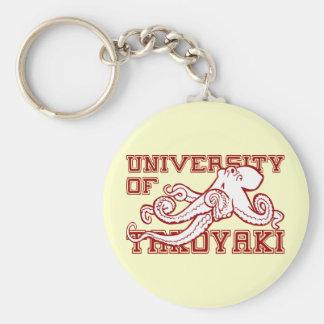 University of Takoyaki Japanese octopus funny Keychain