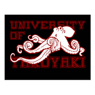 University of Takoyaki Postcard