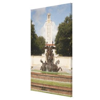 University of Texad Clock Tower. Canvas Print