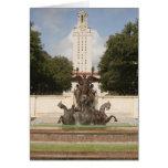 University of Texad Clock Tower. Card