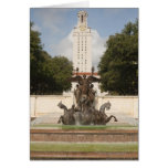 University of Texad Clock Tower. Greeting Card