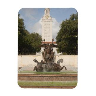University of Texad Clock Tower. Rectangular Magnets