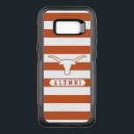 "University of Texas | Alumni Striped Pattern OtterBox Commuter Samsung Galaxy S8  Case<br><div class=""desc"">Show off your Texas spirit with these Longhorn phone cases! This design is officially licensed artwork from The University of Texas.</div>"