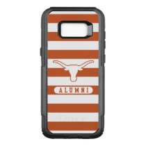 University of Texas | Alumni Striped Pattern OtterBox Commuter Samsung Galaxy S8  Case