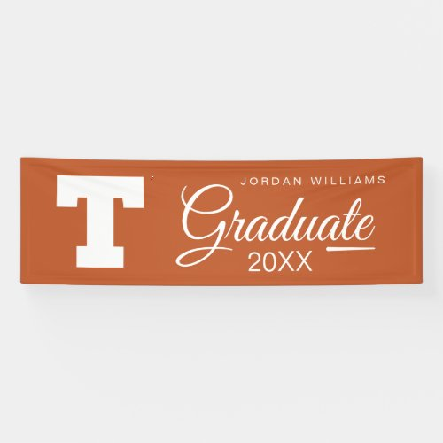 University of Texas Graduation Banner