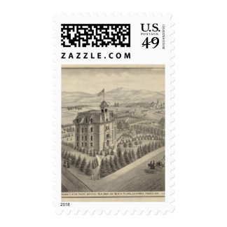 University of the Pacific Postage Stamp