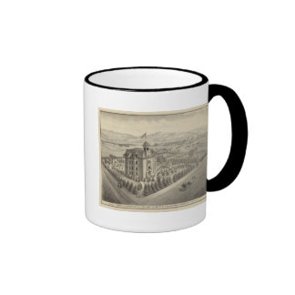 University of the Pacific Ringer Coffee Mug