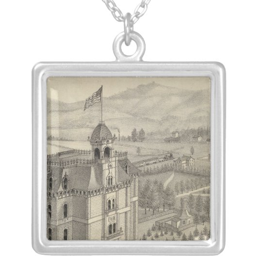 University of the Pacific Silver Plated Necklace