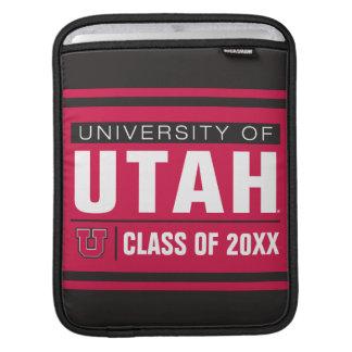 University of Utah Class Year Sleeves For iPads