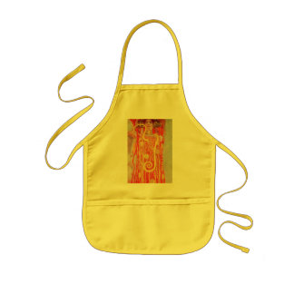 University of Vienna Ceiling Paintings (Medicine) Kids' Apron