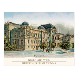 University OF Vienna - University of Vienna Postcard