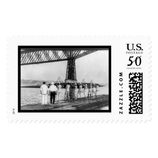 University of Wisconsin Varsity Rowing 1914 Postage