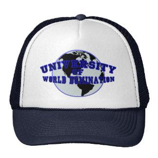 University of World Domination Trucker Hat
