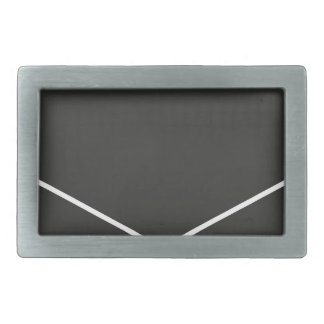 university rectangular belt buckle