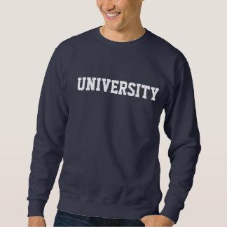 University sweat shirt