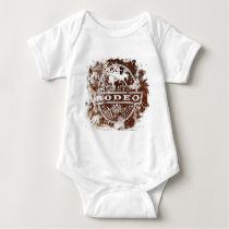 University Ted states horse rodeo wildly west Baby Bodysuit