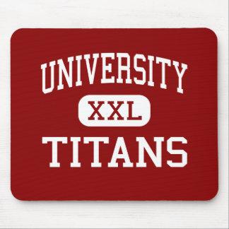 University - Titans - High - Spokane Washington Mouse Pad