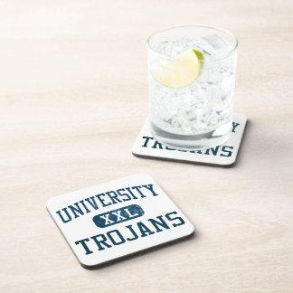 University Trojans Athletics Beverage Coaster