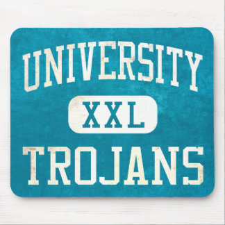 University Trojans Athletics Mouse Pad