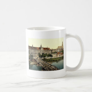 University with bridge, Breslau, Silesia, Germany Mugs